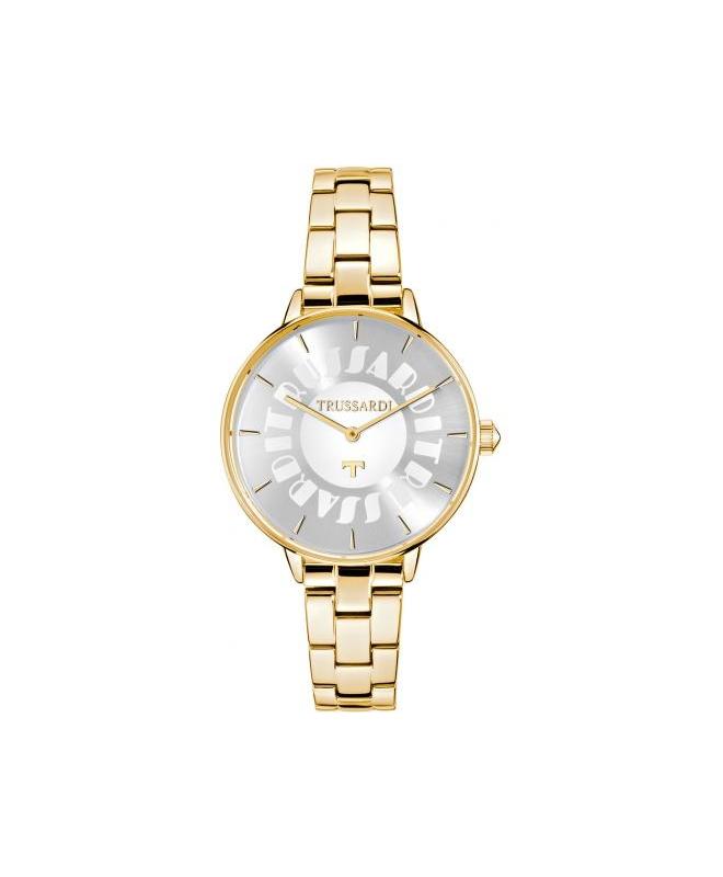 Orologio Trussardi T-fun donna acciaio dorato - galleria 1