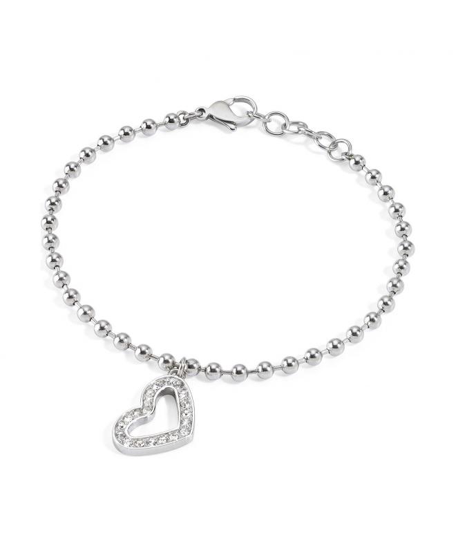 Bracciale Morellato Abbraccio donna acciaio / cuore - galleria 1