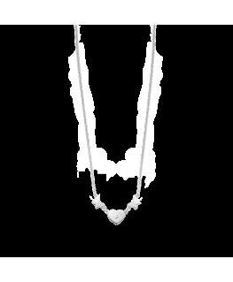 Collana Morellato Insieme donna acciaio cuori - 40/45 cm