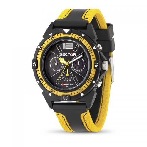 Orologio Sector Expander uomo giallo / nero uomo R3251197022