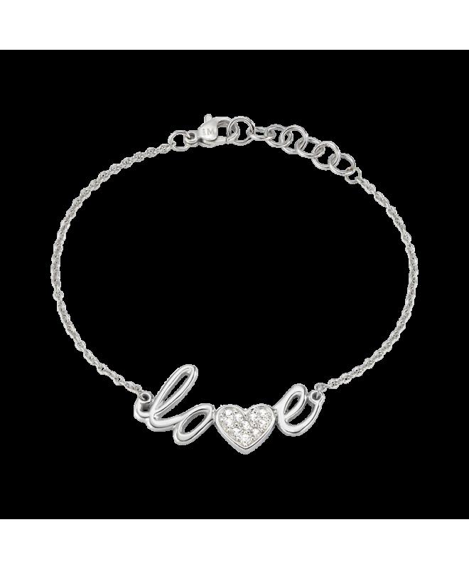 Bracciale Morellato I-love donna acciaio love donna SAEU05 - galleria 1