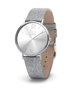 Ice-watch City sparkling - glitter - silver - smal