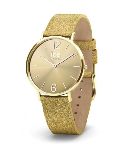 Ice-watch City sparkling - glitter - gold - small