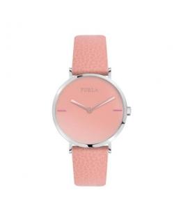 Furla Giada 33mm 2h pink dial moon stone strap