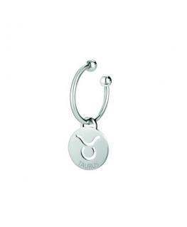 Morellato Keyholder talisman round tag w/taurus