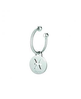 Morellato Keyholder talisman round tag w/pisces