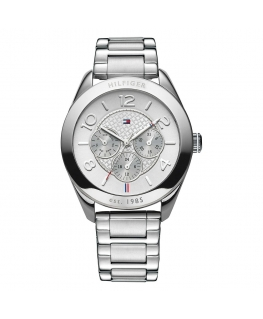 Tommy Hilfiger Gracie 40mm multi. sil/wht dial br