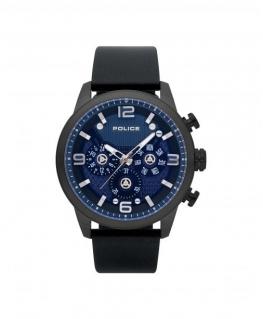 Police Key west multi blue dial black strap