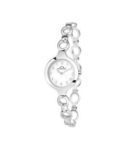 Chronostar Selena 25mm 2h white dial br ss
