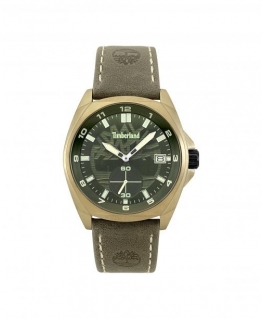 Timberland Hutchington 3h green dial green leather