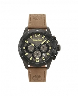Timberland Harriston chro gun dial khaki leather
