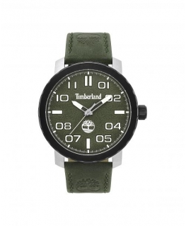Timberland Wellesley 3h green dial dk.green leather