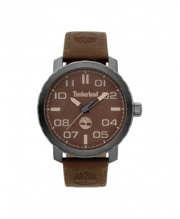 Timberland Wellesley 3h brown dial brown leather
