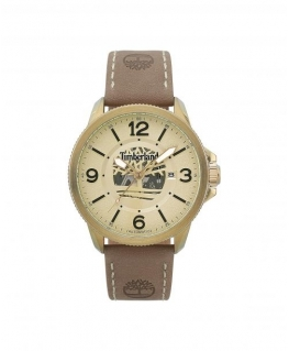 Timberland Biddeford auto beige dial beige leather