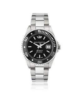 Philip Watch Caribe auto black dial bracelet