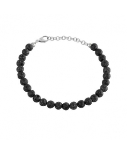 Sector Gioielli Natural br.black onix small stones