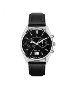Lucien Rochat Lunel 41mm chr black dial black st