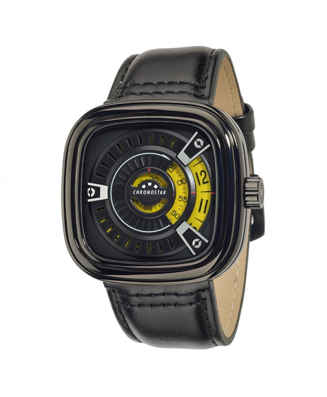 Orologio Chronostar uomo Archimede nero - galleria 1