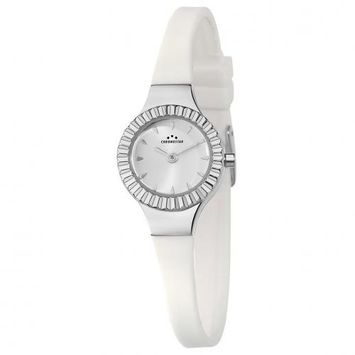 Orologio Chronostar Royalty donna bianco