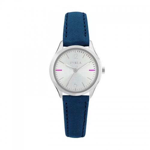 Orologio Furla Eva donna pelle blu / silver R4251101506