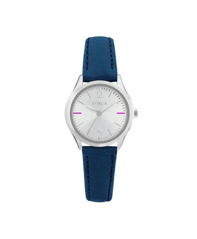 Orologio Furla Eva donna pelle blu / silver R4251101506 - galleria 1