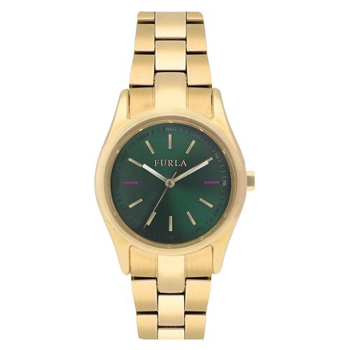 Orologio Furla Eva donna oro verde R4253101502