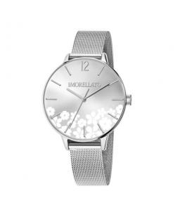 Morellato Ninfa 36mm 3h silver dial mesh ss