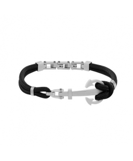 Sector Gioielli Marine br. satined anchor black strings