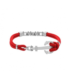 Sector Gioielli Marine br. ss anchor red strings