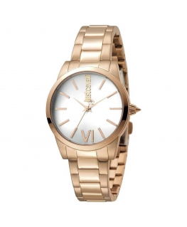 Orologio Just Cavalli Relaxed donna oro rosa / bianco