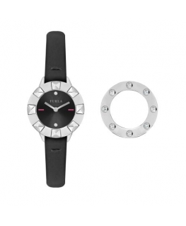 Furla Club 26mm 2h black dial black st