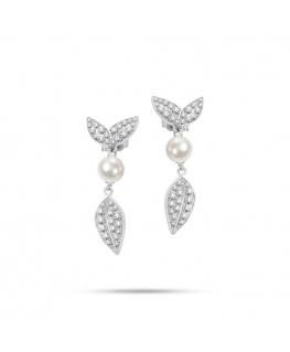 Orecchini Morellato Natura donna acciaio / perle