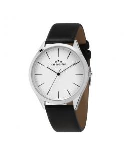 Chronostar Marshall 42mm 3h white dial black st