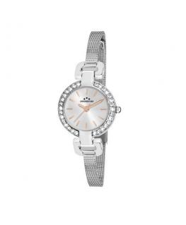 Chronostar Venere 3h 26mm w/silver dial mesh ba ss