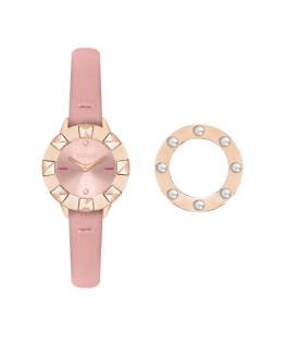 Furla Club 26mm 2h pink dial pink st