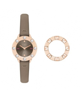 Furla Club 26mm 2h warm gray dial kaki st