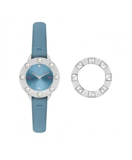 Furla Club 26mm 2h l.blue dial l.blue st