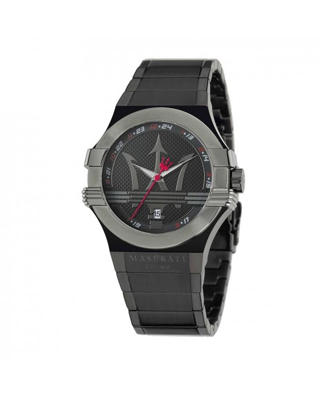 Orologio Maserati Potenza uomo acciaio nero uomo R8853108003 - galleria 1