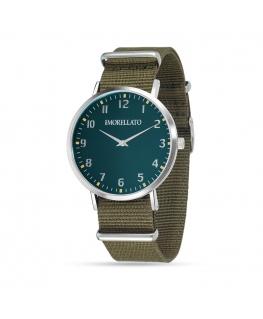Orologio Morellato Vela uomo verde militare