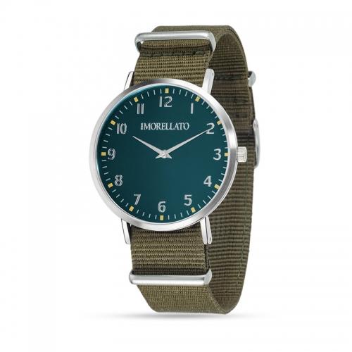 Orologio Morellato Vela uomo verde militare uomo R0151134004