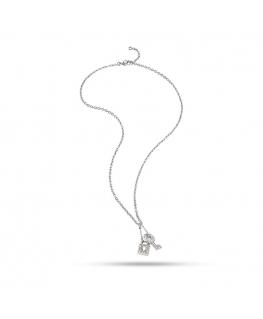 Collana Morellato donna Abbraccio lucchetto / chiave
