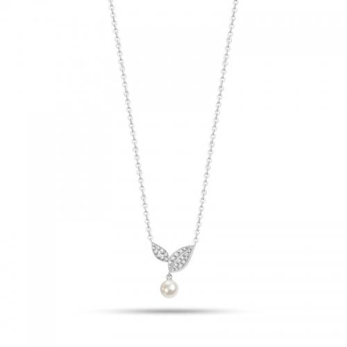 Collana Morellato Natura donna acciaio / perla donna SAHL09