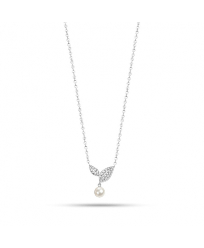 Collana Morellato Natura donna acciaio / perla donna SAHL09 - galleria 1