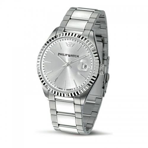 Orologio Philip Watch Caribe uomo acciaio / silver R8253597007