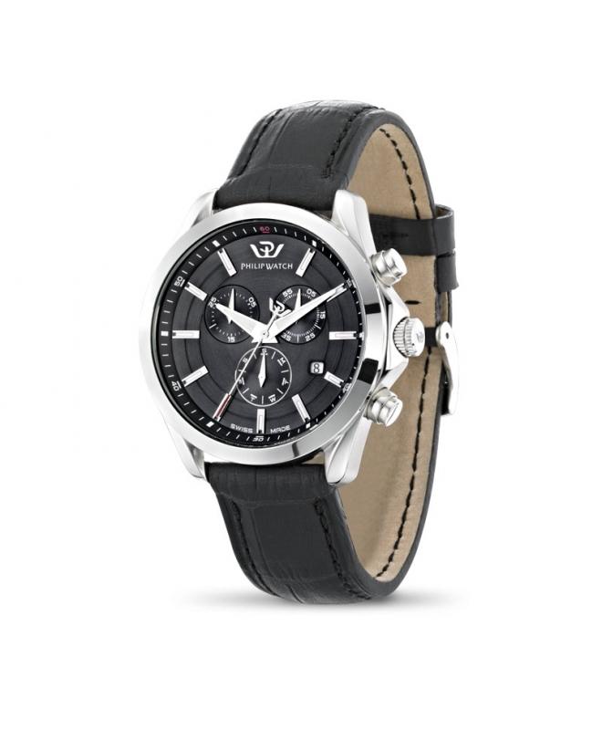 Orologio Philip Watch Blaze uomo pelle nero R8271665004 - galleria 1