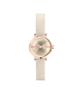 Furla Mirage 21mm 2h ivory dial cream st