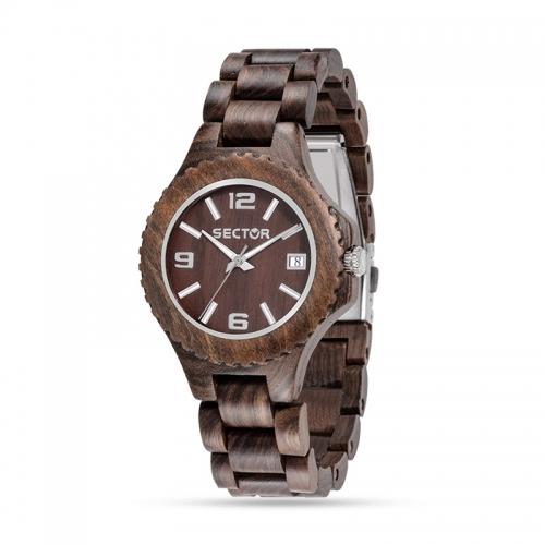 Orologio Sector Nature unisex legno unisex R3253478012