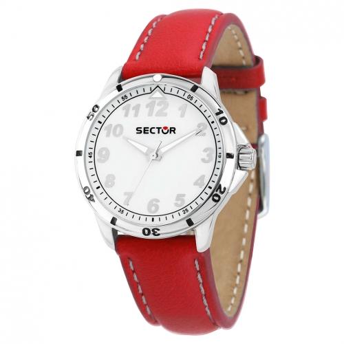 Orologio Sector Young ragazzo pelle rosso unisex R3251596001
