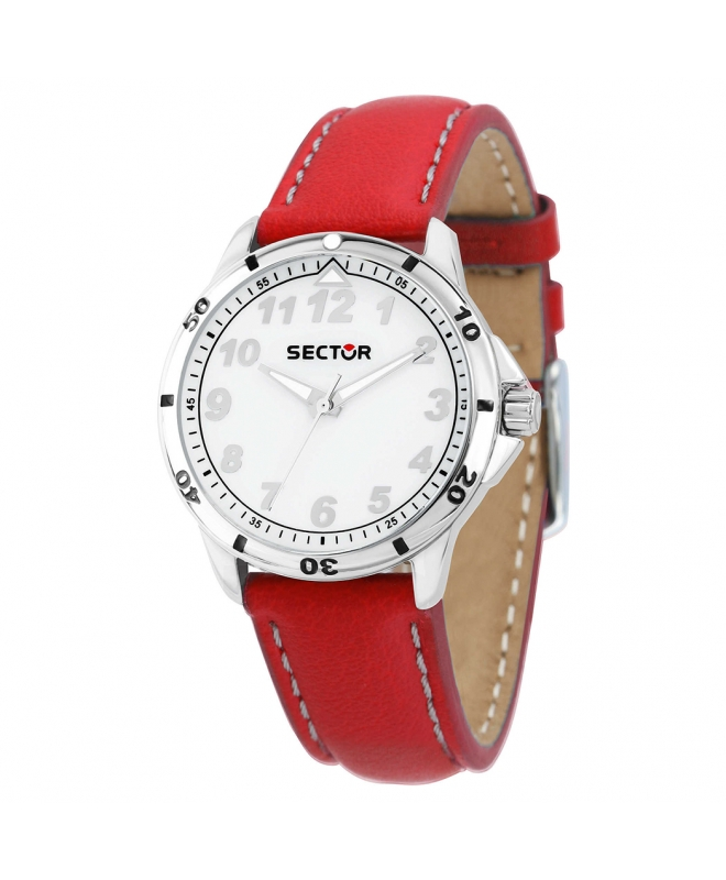 Orologio Sector Young ragazzo pelle rosso unisex R3251596001 - galleria 1