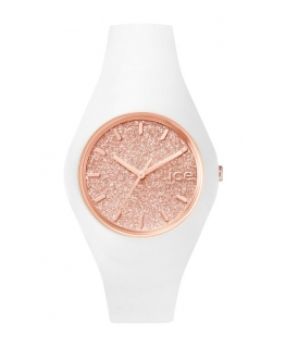 Ice-watch Ice glitter - white rose-gold - unisex